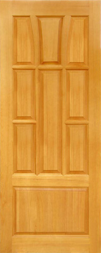 Филенчатые двери тюльпан